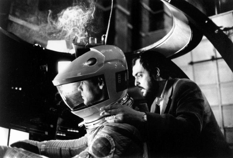 Kubrick sul set di 2001 (Mandatory Credit: Photo by MGM/Stanley Kubrick Productions/Kobal/REX/Shutterstock)