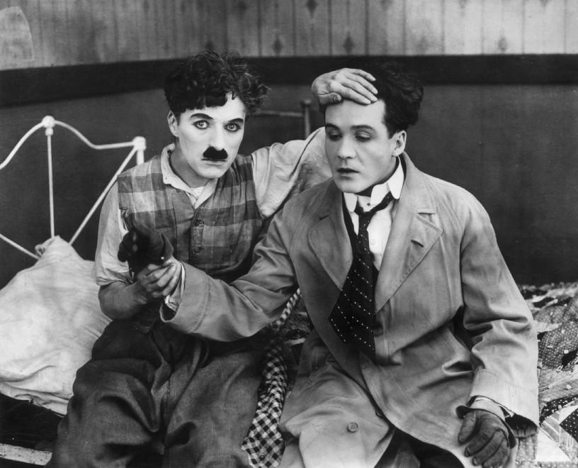 "Charlie Chaplin in ""Sunnyside"" (1919)"