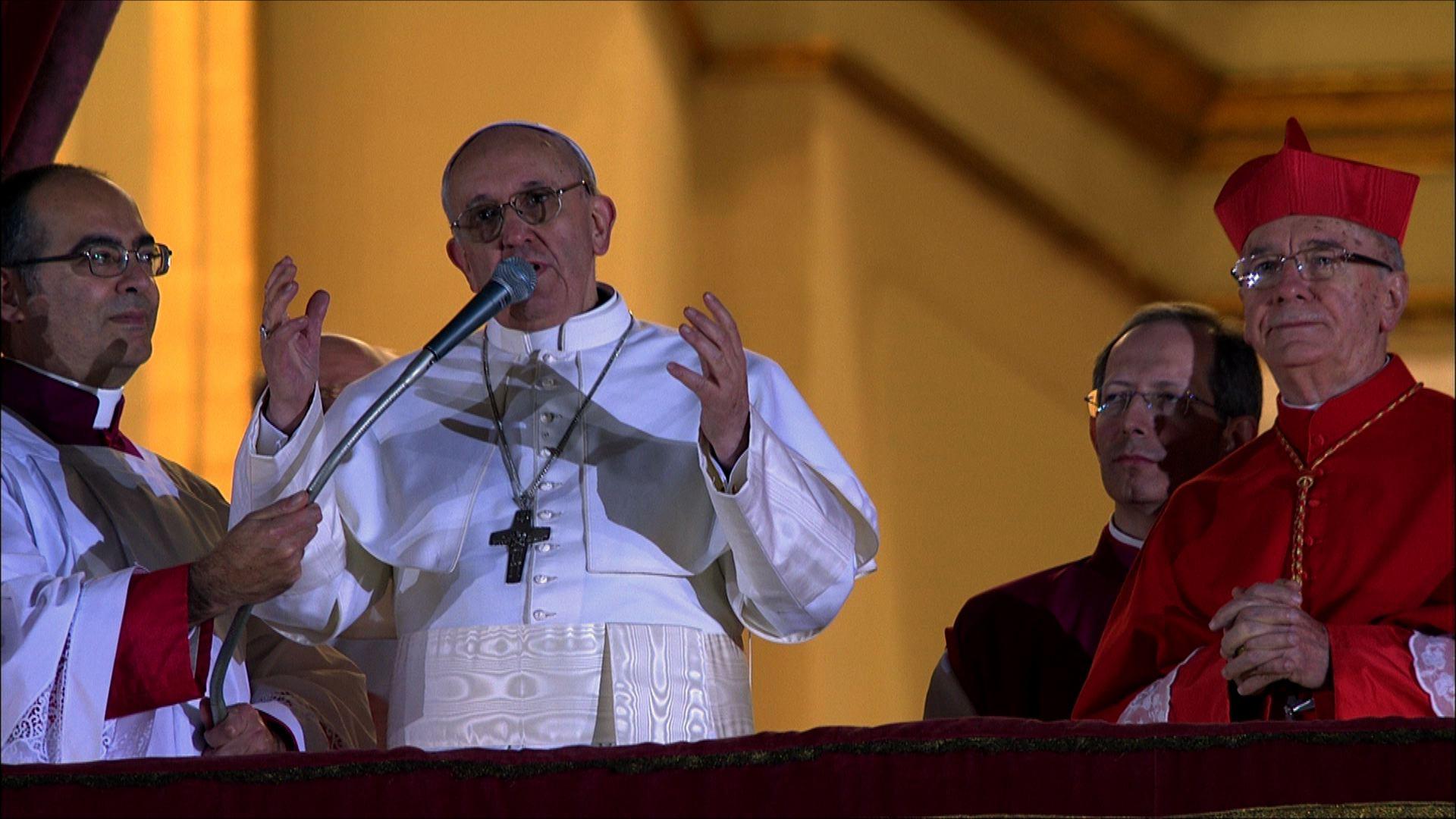 L'annuncio di Papa Francesco, subito dopo la fumata bianca
