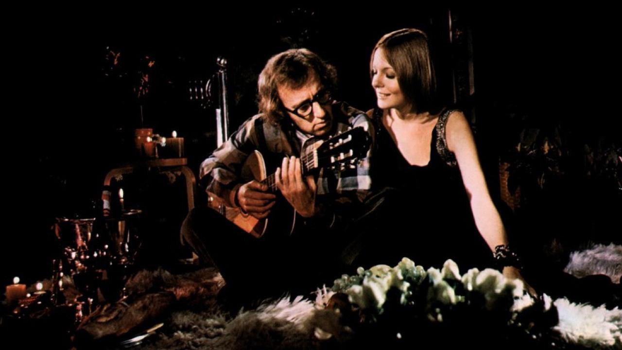 """Con Diane Keaton in """"Provaci Ancora, Sam"""" (1972, Herbert Ross)"""