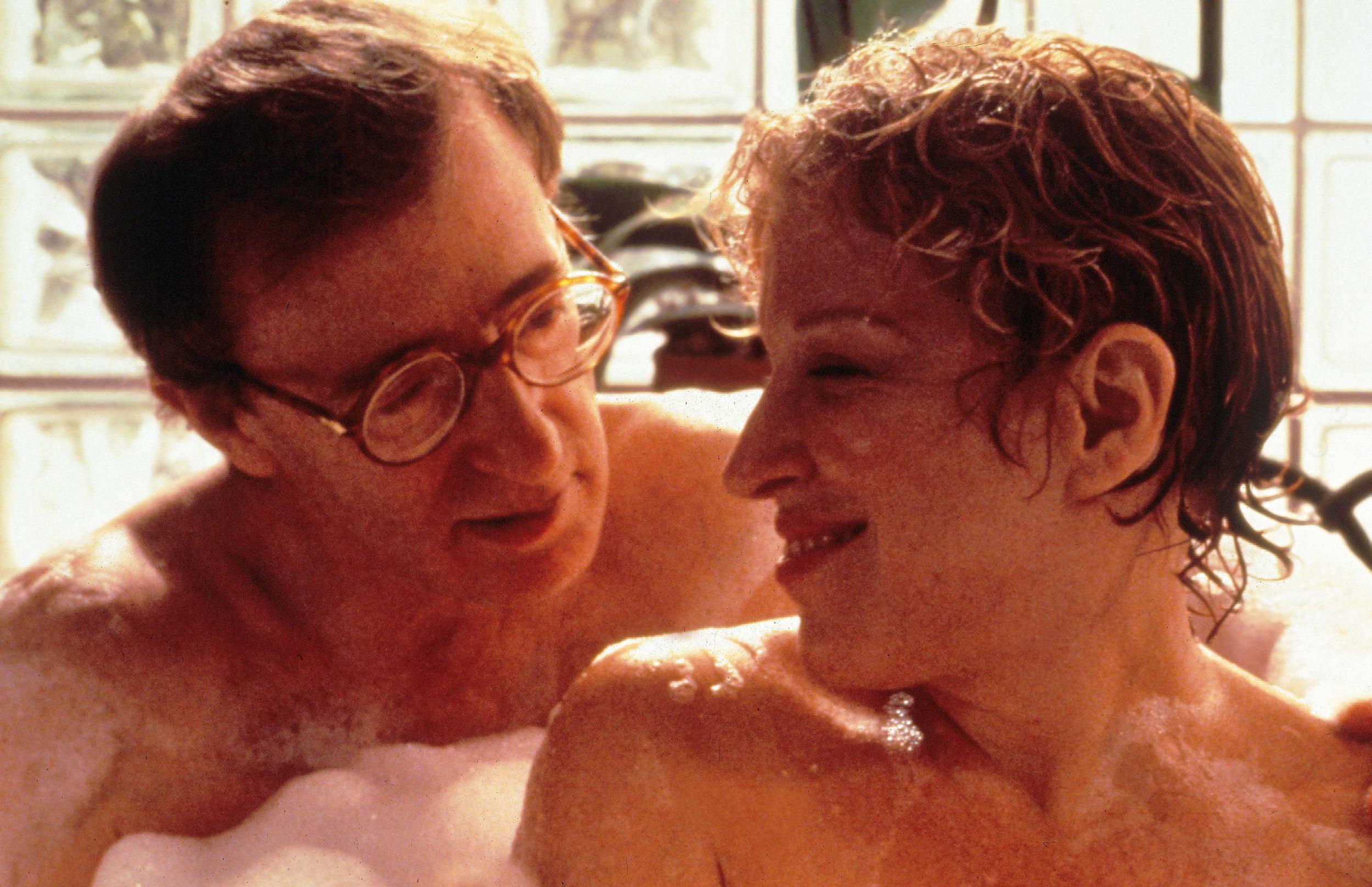 "Con Bette Midler in ""Storie di Amori e Infedeltà"" (1991, Paul Mazursky)"