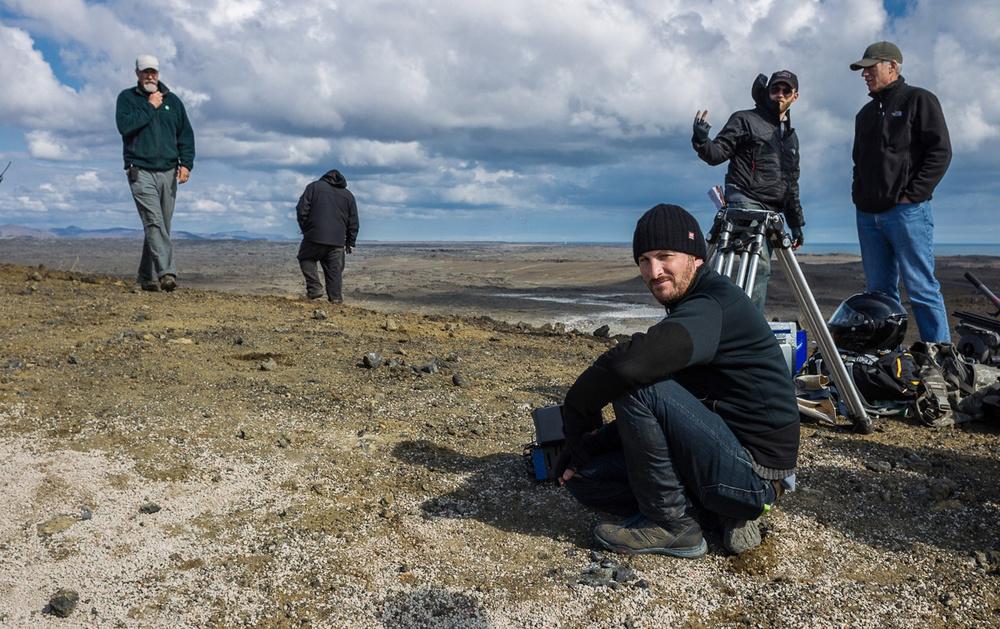 Darren Aronofksy sul set di Noah