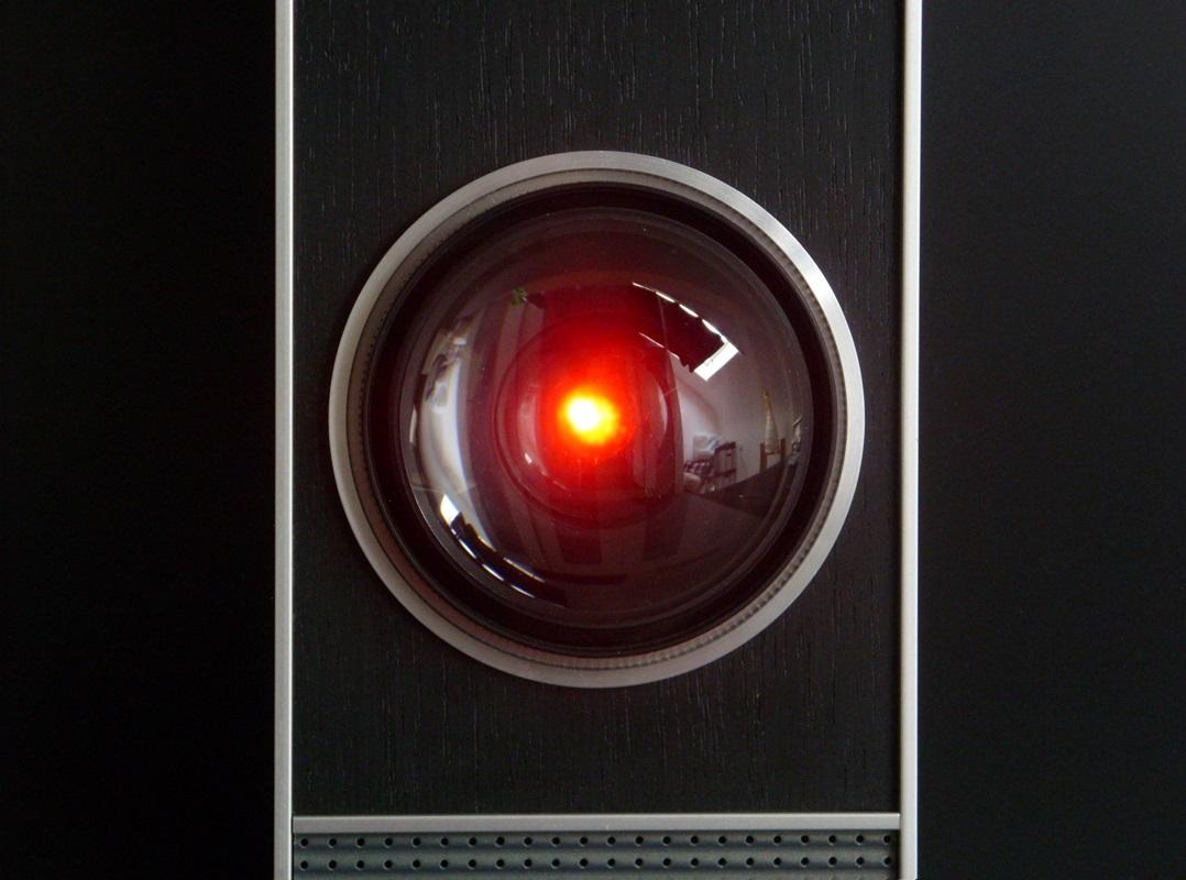 """L'occhio crudele di Hal 9000 in """"2001: Odissea nello spazio"""""""