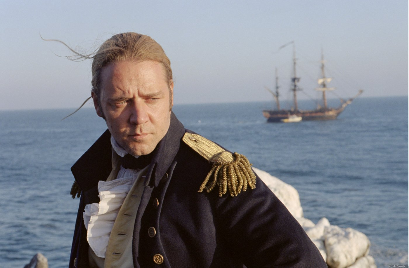 "A bordo della HMS Surprise in ""Master and Commander - Ai Confini del Mare"" (2003)"