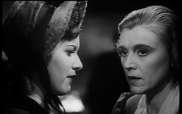 Maureen O'Hara e Marie Ney