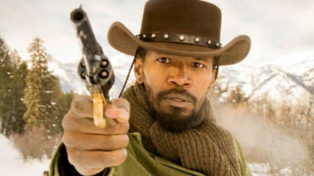 "Jamie Foxx in ""Django Unchained"" di Quentin Tarantino (2013)"