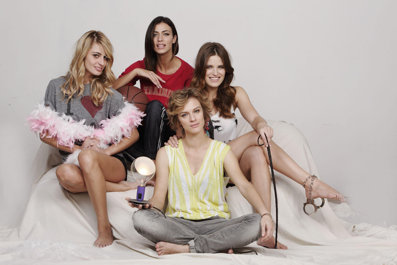 Le protagoniste: Sveva Alviti, Ilaria Capponi, Alessia Piovan, Antonia Liskova