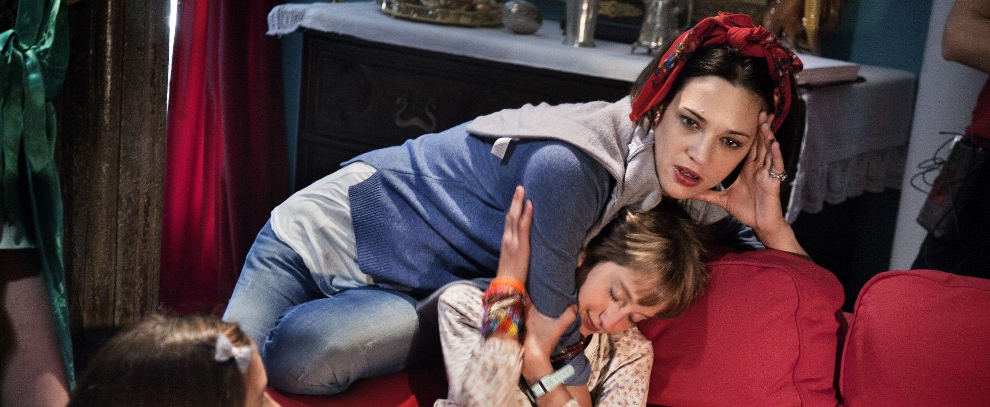 Asia Argento con Giulia Salerno