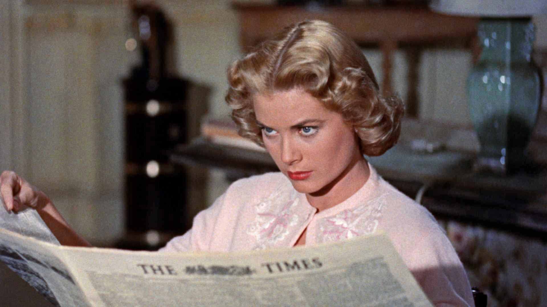 """Protagonista in """"Il Delitto Perfetto"""", il primo dei tre film che girò per Alfred Hitchcock"""