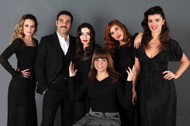 """Il cast di """"Pane e Burlesque"""""""