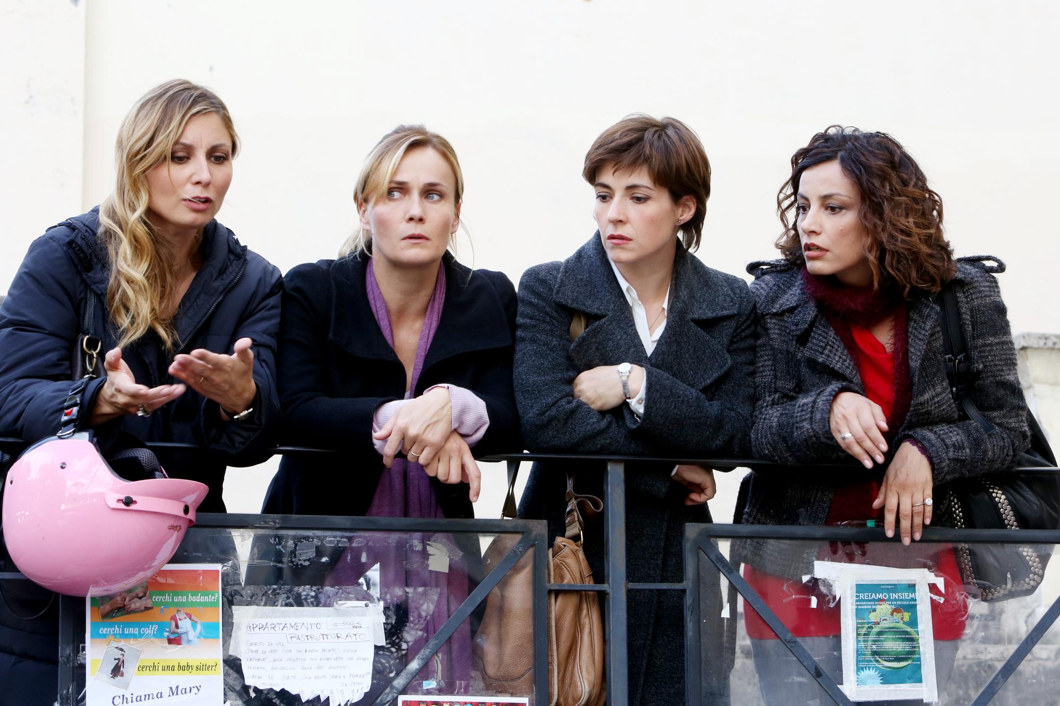 Lucia Mascino, Maria Sciarappa, Alessia Barela, Anna Ferzetti, Vanessa Compagnucci