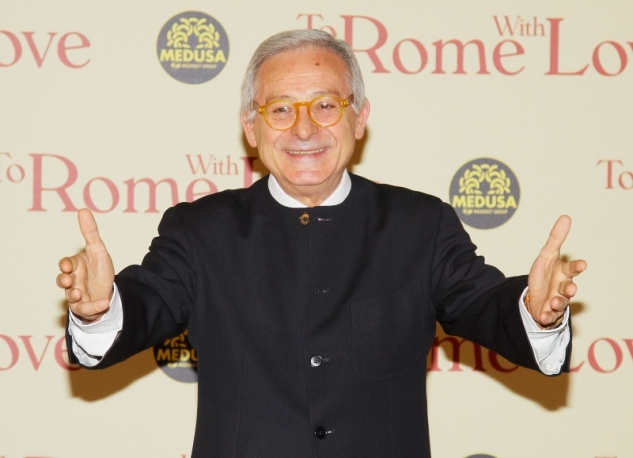 "Alla presentazione di ""To Rome With Love"" come doppiatore di Woody Allen"