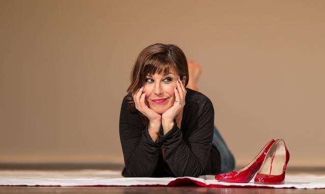 Michela Andreozzi in scena a teatro