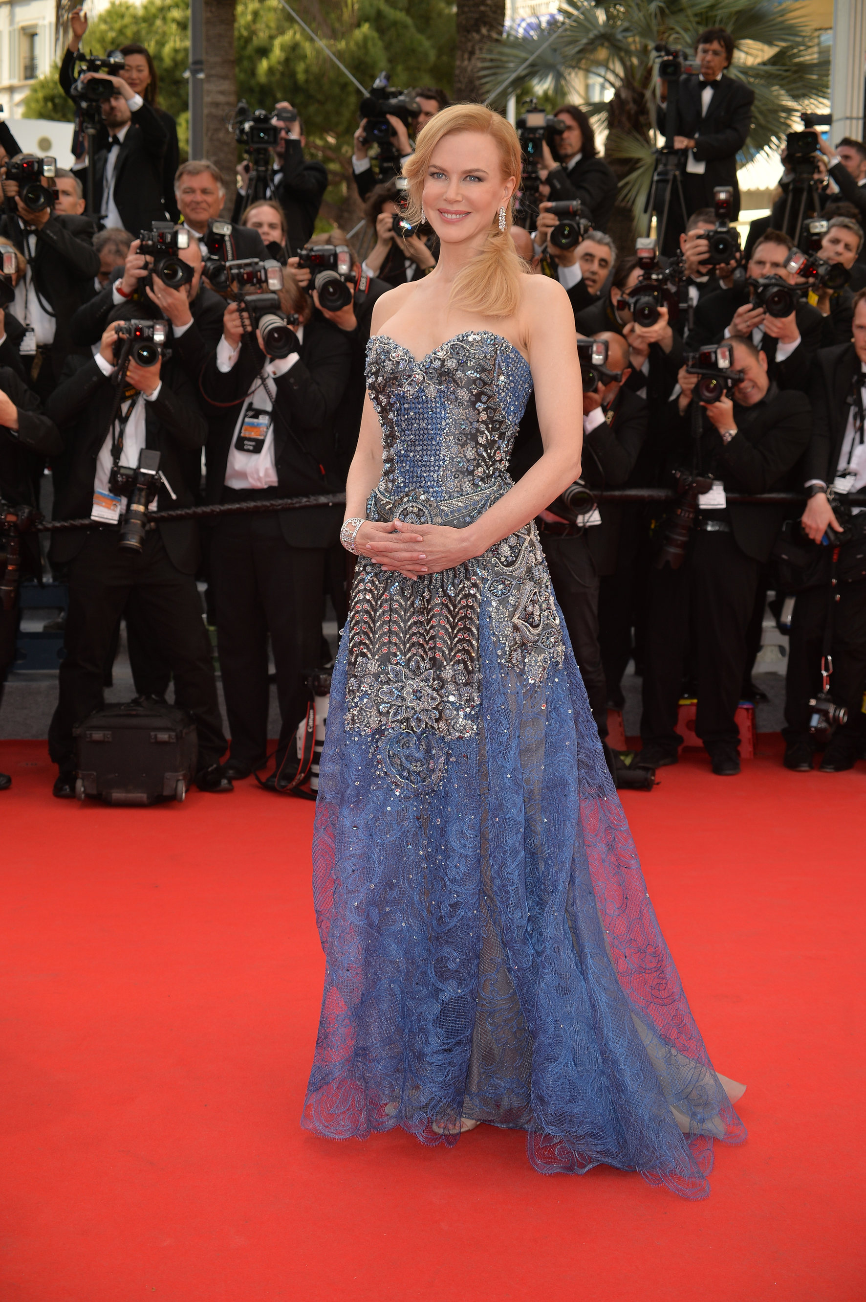 Giorgio Armani ha disegnato il vestito di Nicole Kidman