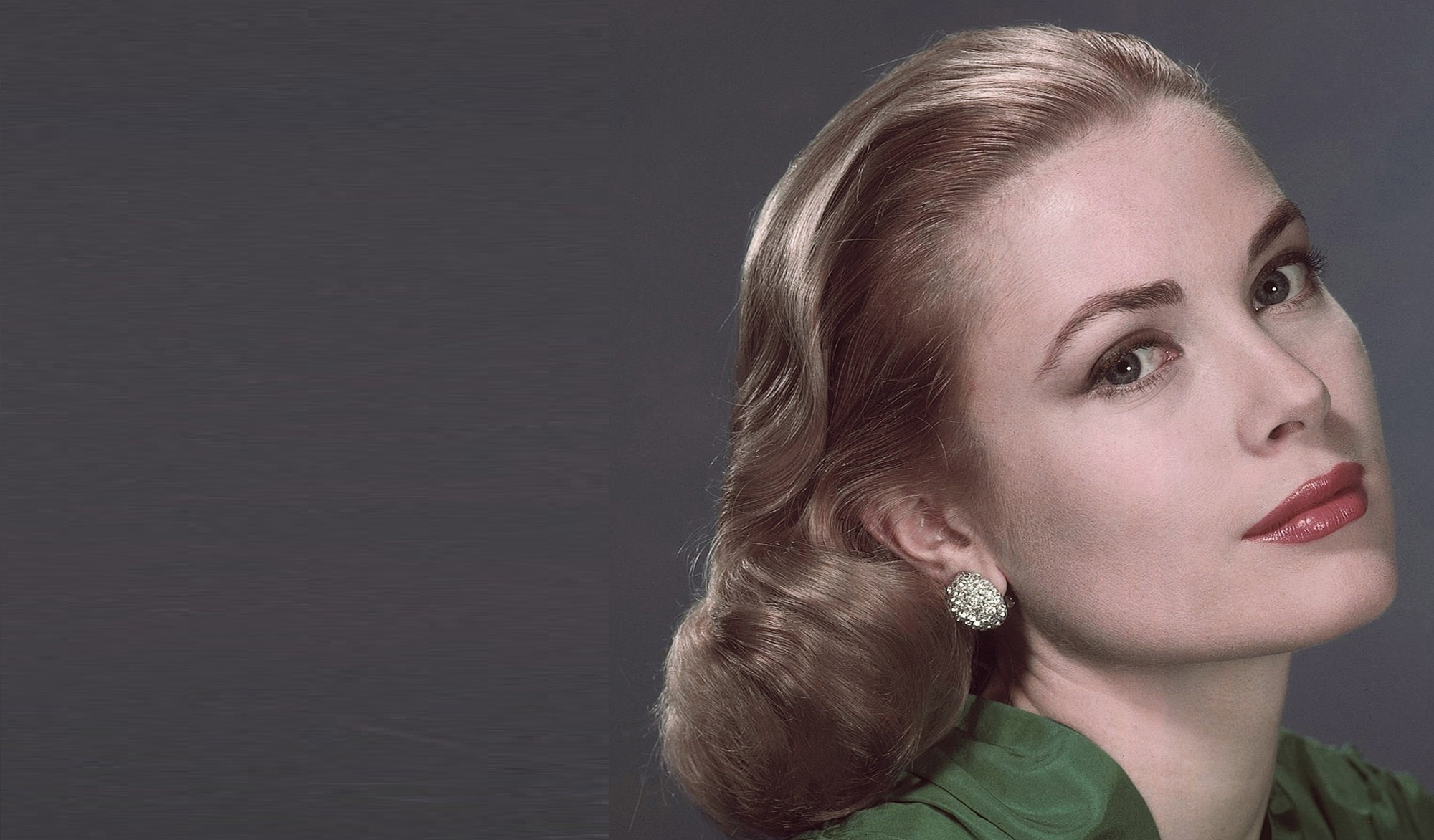 This undated file photo shows Grace Kelly. An exhibit on Kelly