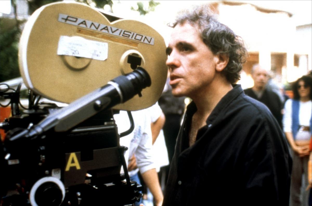 """Ferrara durante le riprese di """"Fratelli! (1996)"""