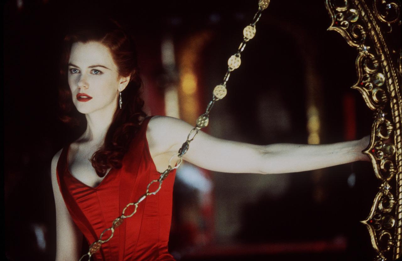 """La Kidman rossa per """"Moulin Rouge"""" (2001)"""