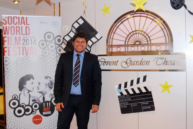 Giuseppe Alessio Nuzzo, il Direttore del Social World Film Festival