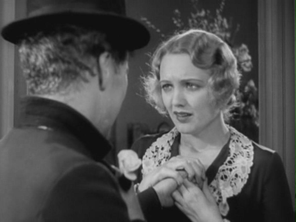 """Con Virginia Cherrill nel commovente finale di """"Luci della Città"""" (1931)"""