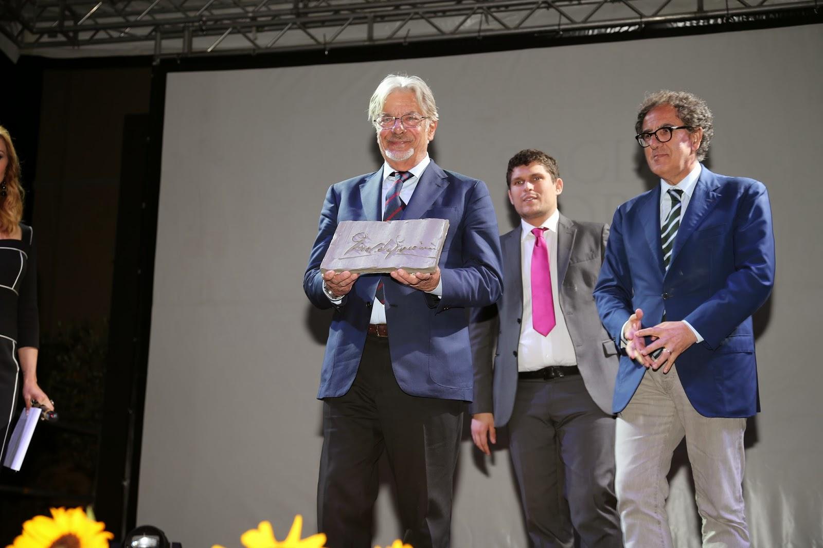 Giancarlo Giannini, sul palco del SWFF