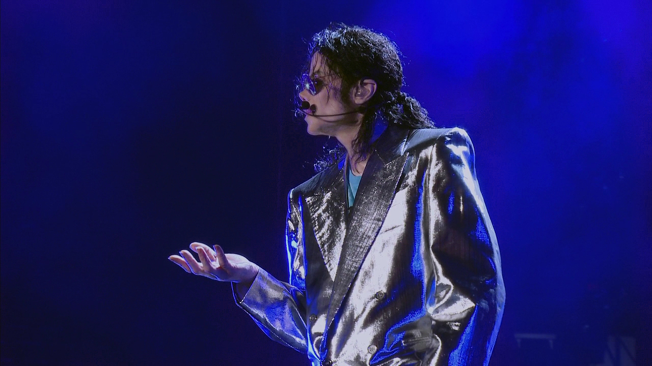 "Michael Jackson durante le prove di ""This Is It"""