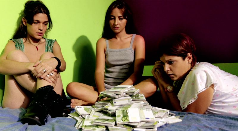 Le tre protagoniste: Giovanna Verdelli, Federica De Cola, Giovanna D'Angi