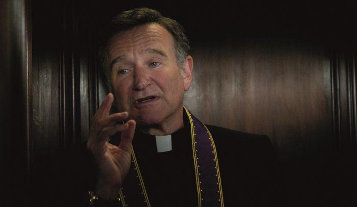 Il prete della cerimonia, Robin Williams