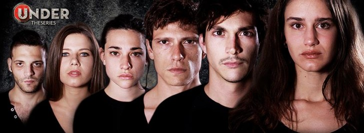 "I giovani protagonisti di ""Under - The Series"""
