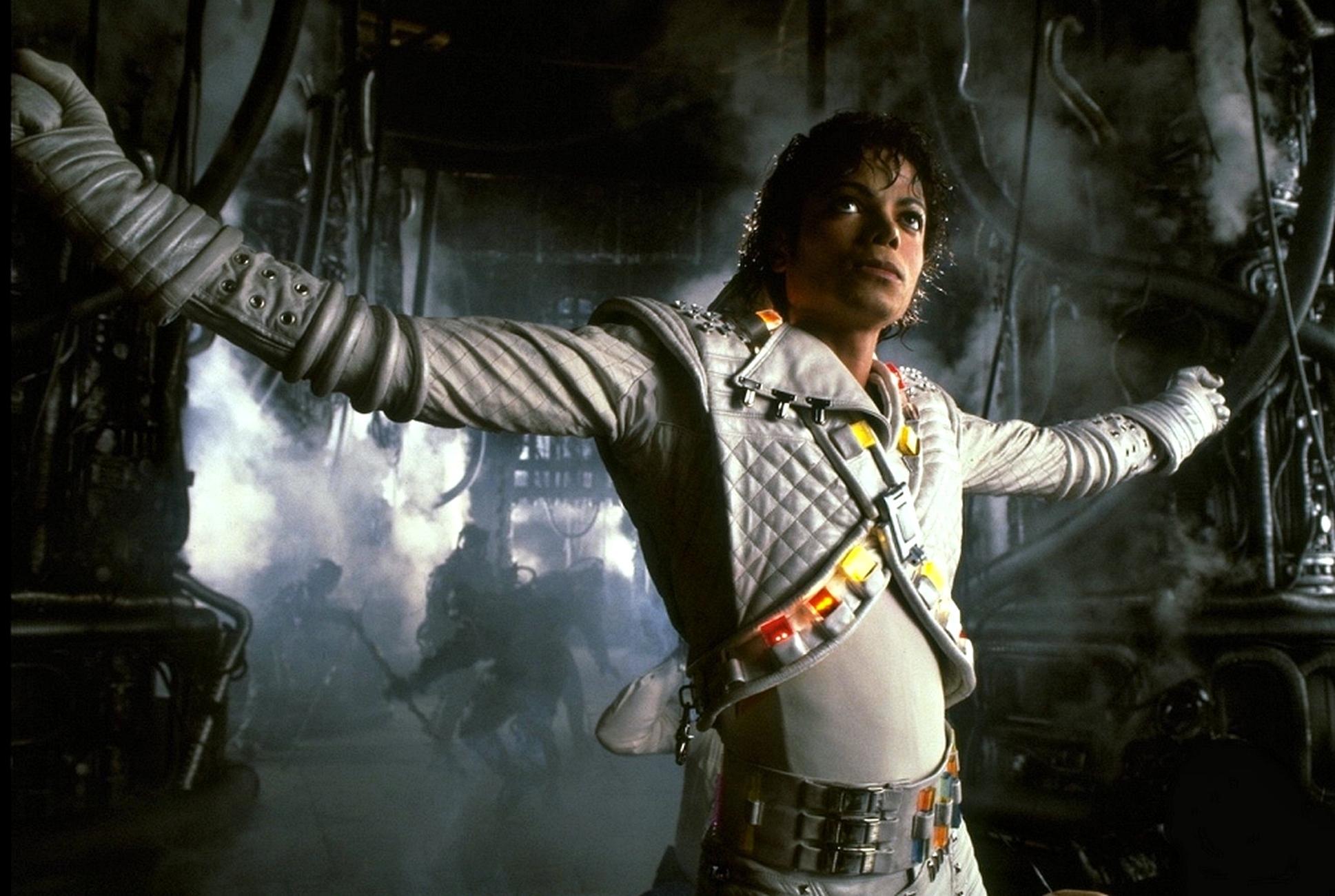 "Una scena da ""Captain EO"" (1985)"