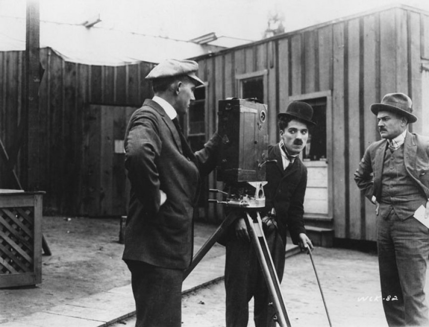 "L'esordio assoluto di Charlot in ""Kid Auto Races At Venice"" (1914)"