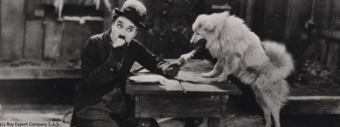 """Chaplin in """"La Febbre dell'Oro"""" (1925)"""