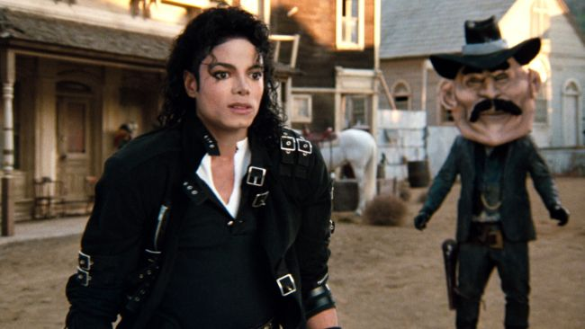 "In ""Moonwalker"" (1988)"