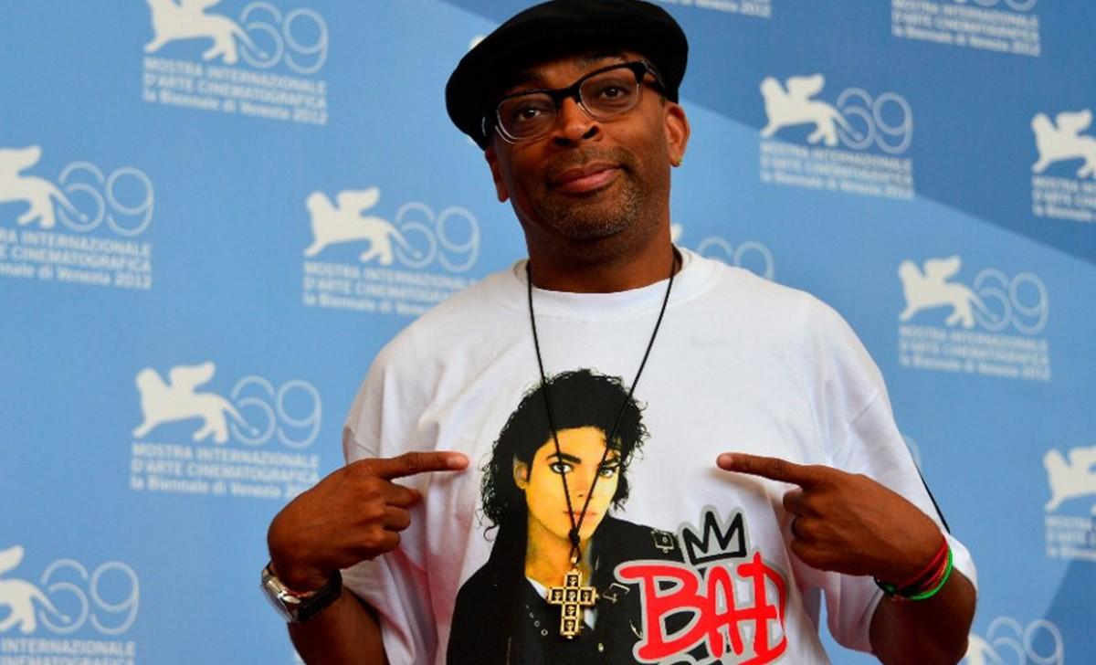 """Spike Lee a Venezia nel 2012, presenta il suo docufilm """"Bad 25"""""""