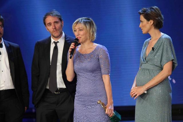 """Valeria Bruni Tedeschi, premiata come Miglior Attrice Protagonista per """"Il Capitale Umano"""""""