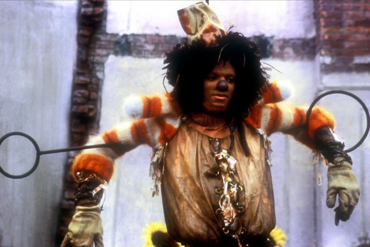 """Nella parte dello spazzacamino in """"The Wiz"""" (1978)"""