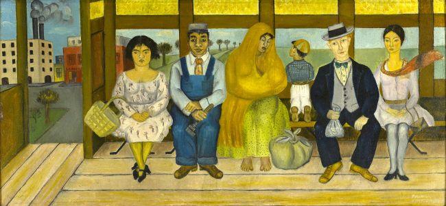 """Il dipinto """"El Camion"""""""