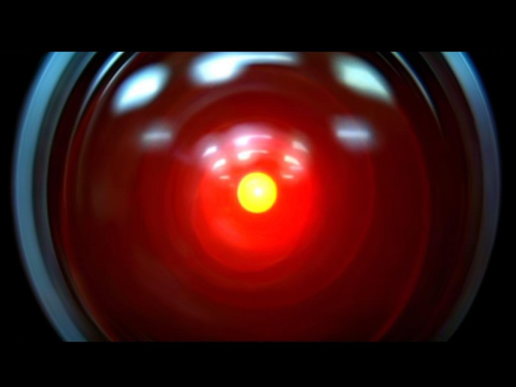 """Hal 9000 in """"2001: Odissea nello Spazio"""""""
