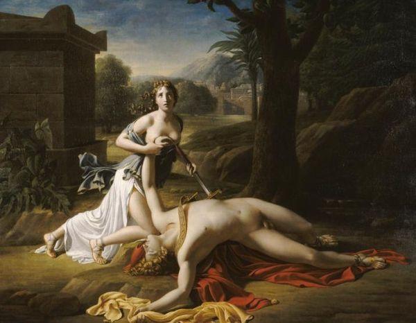 Piramo e Tisbe, Gautherot Pierre-Claude 1799