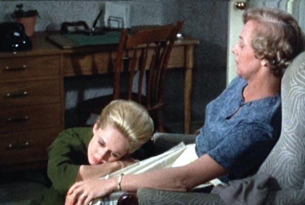 Tippi Hedren (Marnie) e Louise Latham, che interpreta sua madre