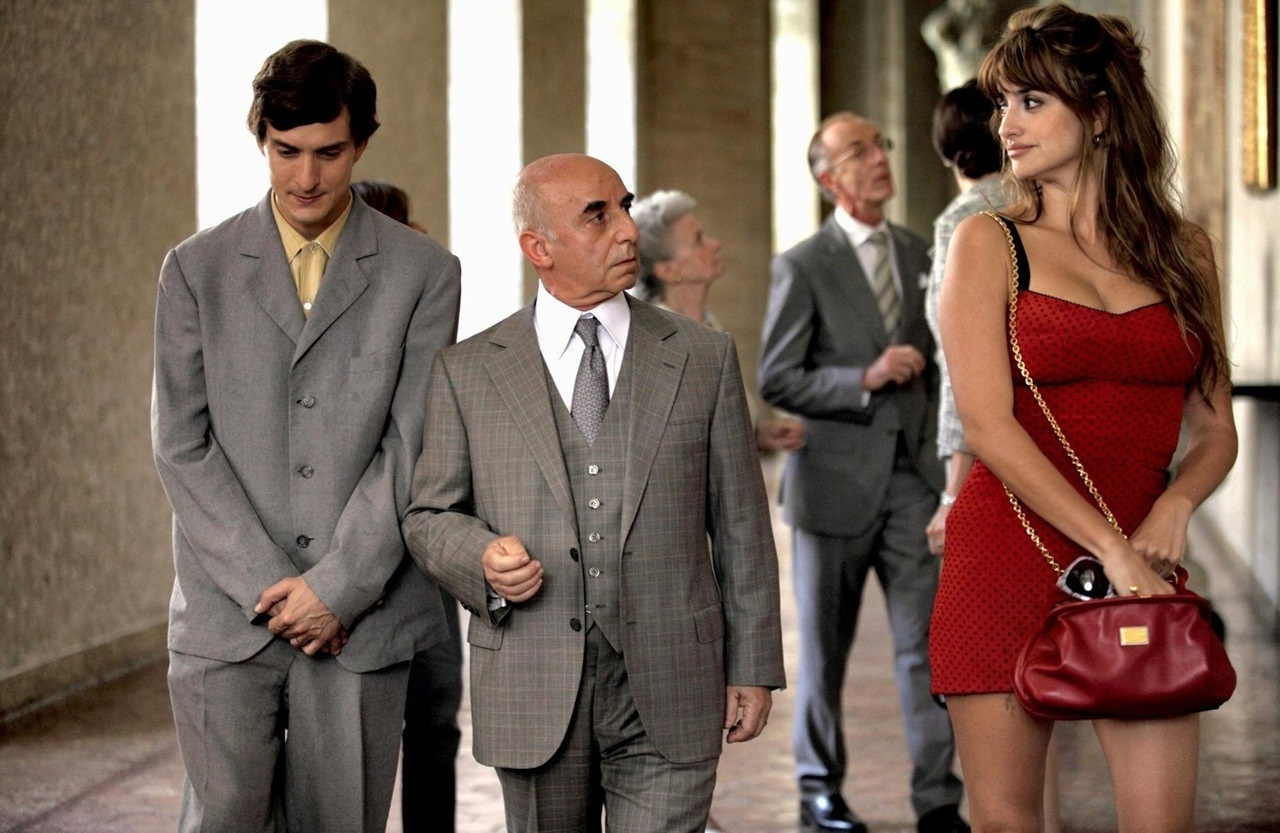 "Insieme ad Alessandro Tiberi e a Penelope Cruz in ""To Rome With Love"""