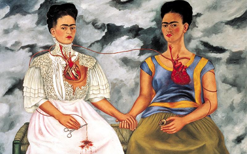 """Il quadro """"Le due Frida"""""""