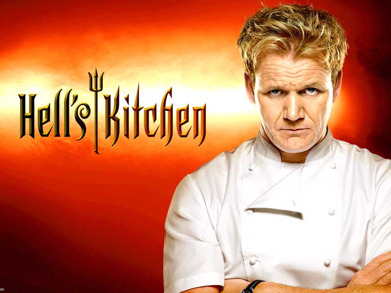 L'americano Gordon Ramsay, il principale chef in tv