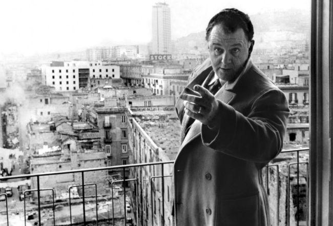 """Rod Stieger in """"Le Mani sulla Città"""""""