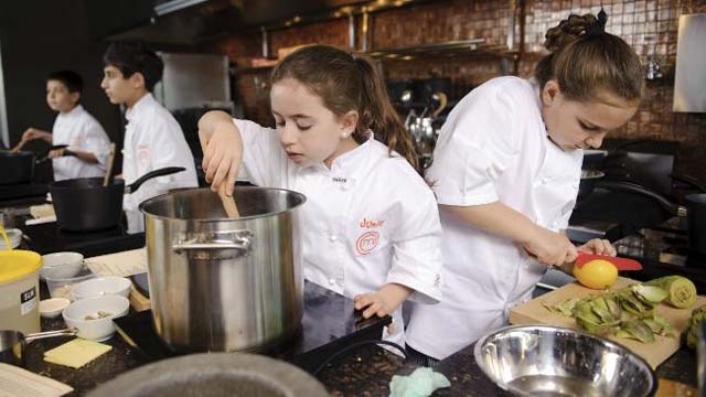 Piccoli Junior chef crescono