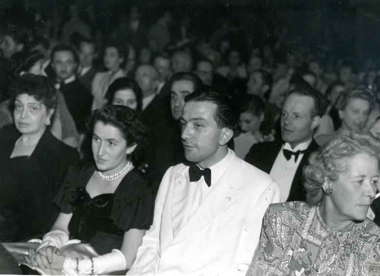 Al cinema di Venezia, nel 1948