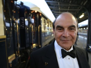 David Suchet & the Venice Simplon Orient Express ok