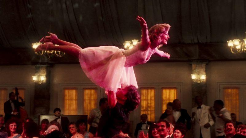 Il salto dell'Angelo nel finale del film