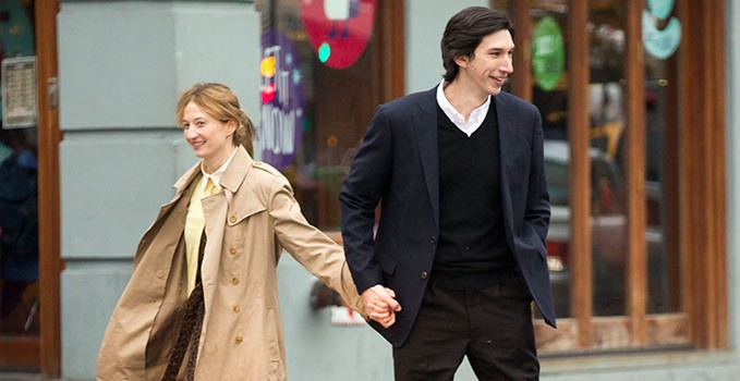 "Alba Rohrwacher e Adam Driver in ""Hungry Hearts"""