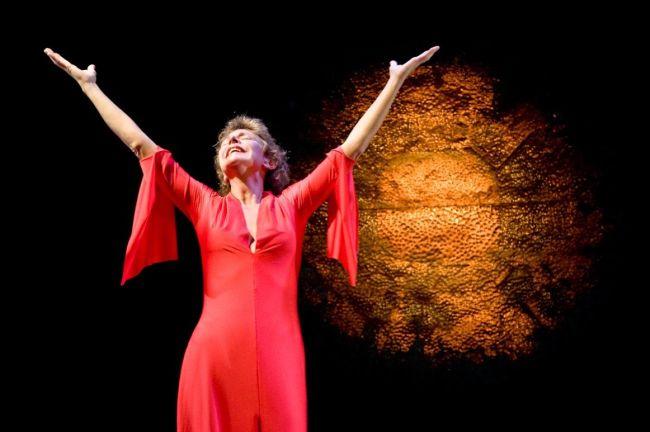 """In scena per """"Medea"""" di Euripide (foto Francesca Pagliai)"""