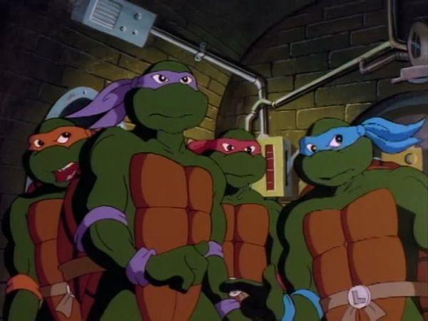 Il cartone animato dei Turtles
